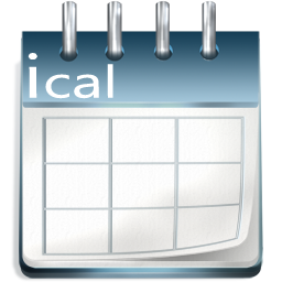 iCal file for the Calendar
