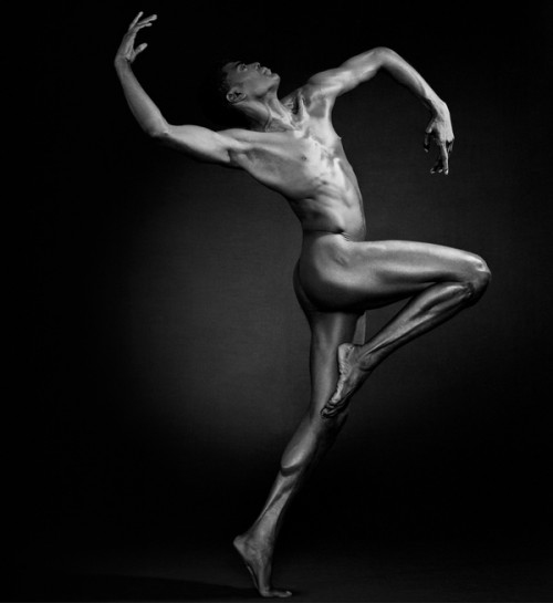 Fine art nude dancer