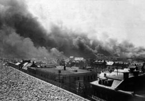 Lebreton Flats Fire, 1900